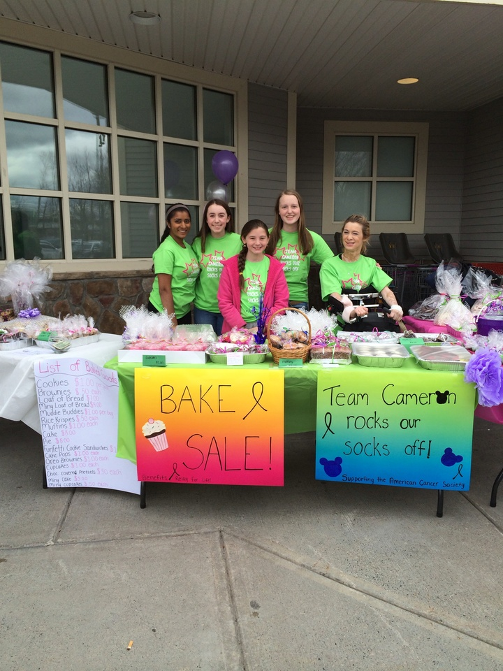 Team Cameron At Our Bake Sale! T-Shirt Photo