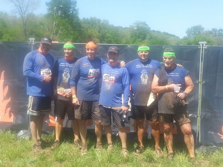 "Team ""After The Tough Mudder"" T-Shirt Photo"