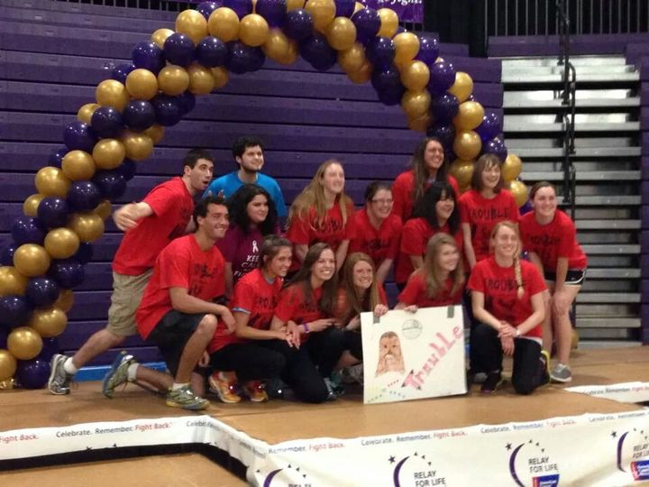 Trouble! At Wcu Relay For Life T-Shirt Photo