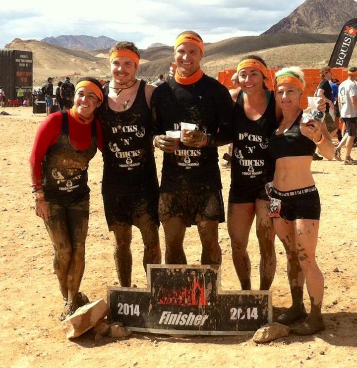 Dicks 'n' Chicks Tough Mudder T-Shirt Photo