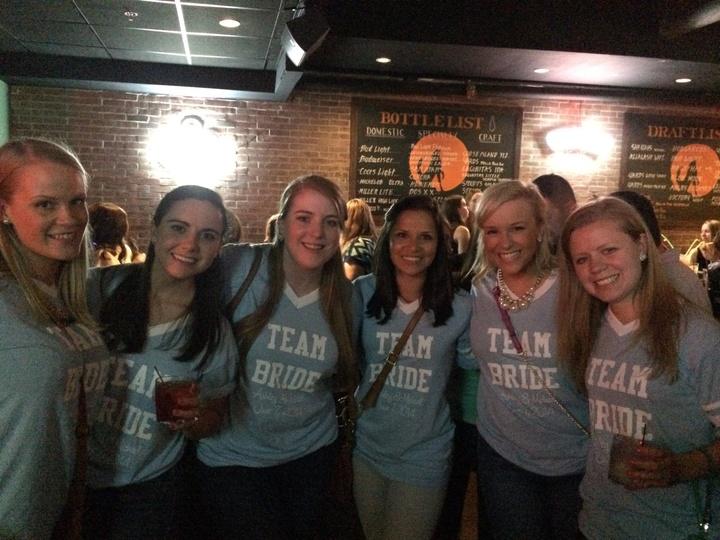 """Team Bride Singing """"Wagon Wheel"""" At The Piano Bar!  T-Shirt Photo"""