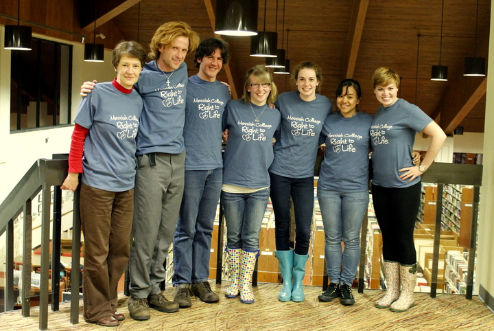 Messiah College Right To Life Club Leadership T-Shirt Photo