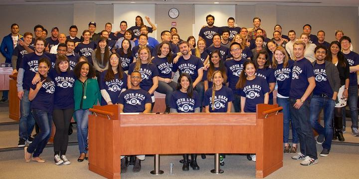 Georgetown Mba Class Of 2015 Best Cohort   Hoya! T-Shirt Photo