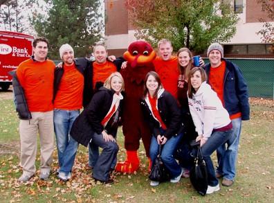 The Hokie Bird And Team D T-Shirt Photo
