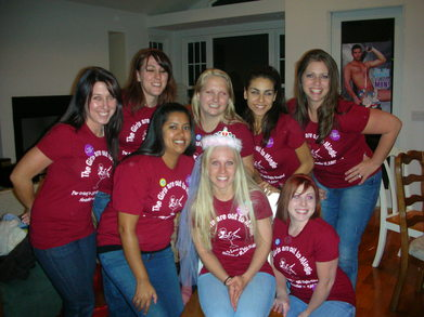 The Girls Are Out To Mingle... T-Shirt Photo