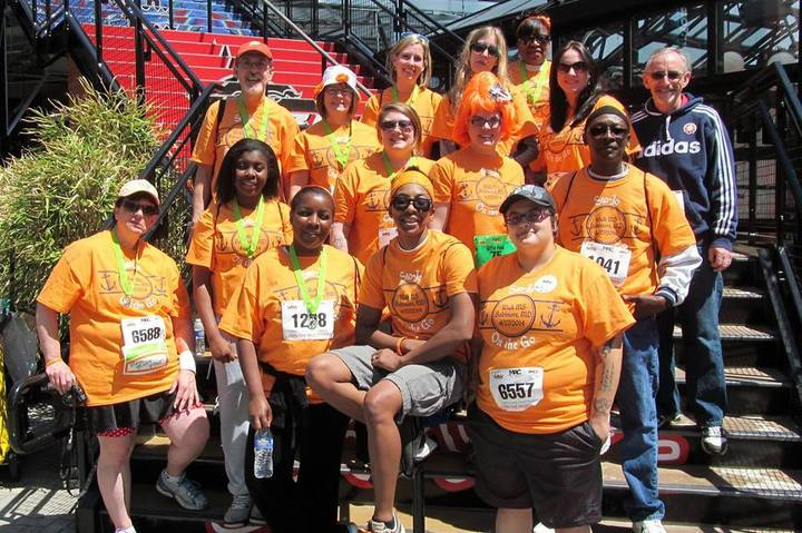 "Team ""Sto Jo On The Go"" @ Walk Ms: Baltimore T-Shirt Photo"