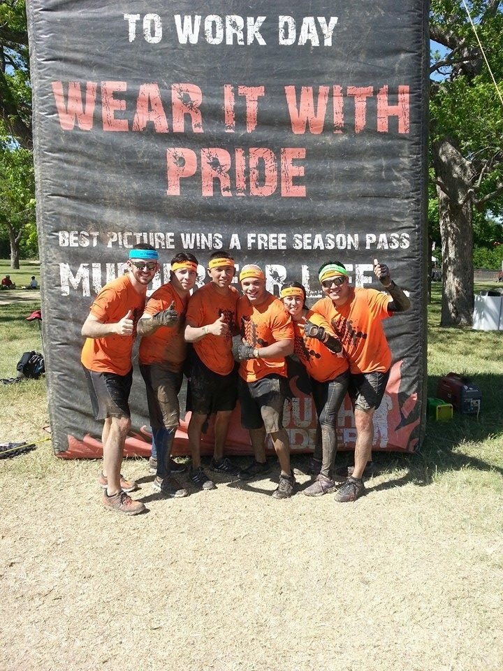 Mudder Take Down  T-Shirt Photo