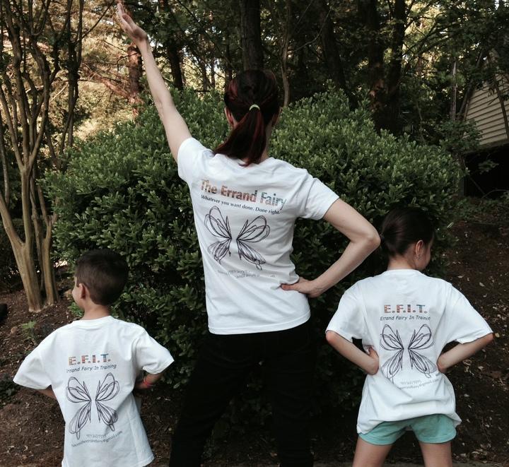 The Errand Fairies At Your Service T-Shirt Photo
