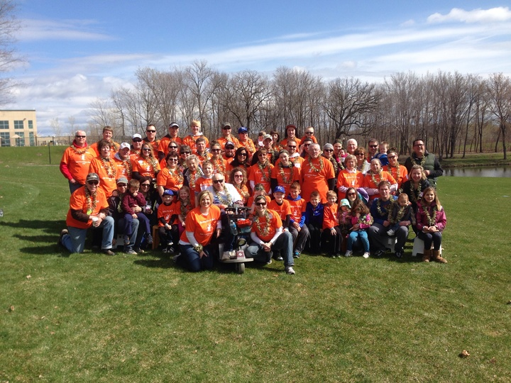 Mn Parkinson's Walk 2014 T-Shirt Photo