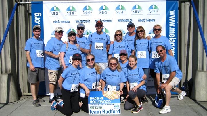 Miles For Melanoma Walk T-Shirt Photo