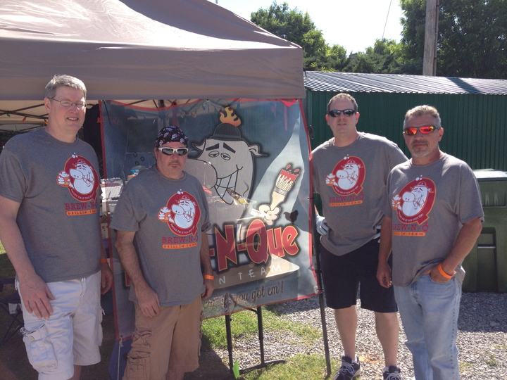 Brew N Que Grilling Team T-Shirt Photo
