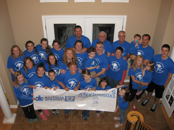 Autism Speaks Anthony's Monkey Squad T-Shirt Photo