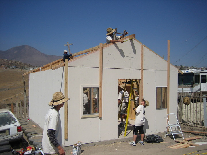 Ryan Companies Build A House In One Day For Project Mercy T-Shirt Photo