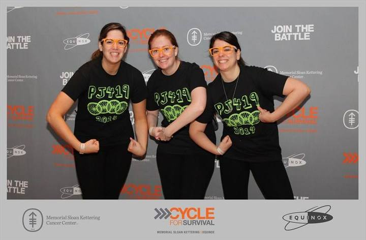 Pj419 At Cycle For Survial In Nyc T-Shirt Photo