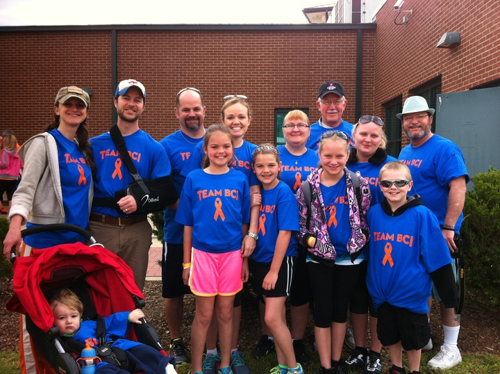 Team Bci 2014 Ms Walk T-Shirt Photo