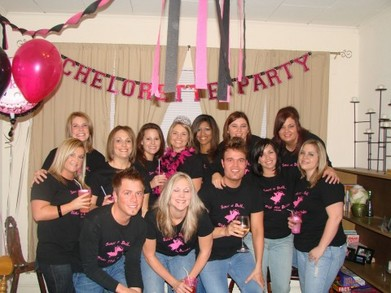 Keitha's Bachelorette Party The Beginning T-Shirt Photo