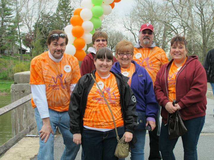Coastin' To A Cure  Walk Ms 2014 T-Shirt Photo
