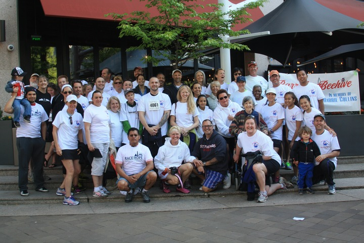 Race For Hope Dc/Barrie's Beehive T-Shirt Photo