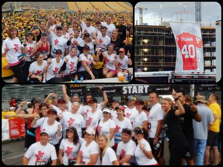 19+One Team At Pat's Run T-Shirt Photo