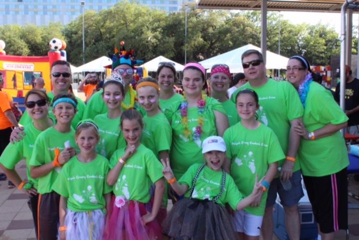 Paige's Crazy Crohn's Crew  T-Shirt Photo