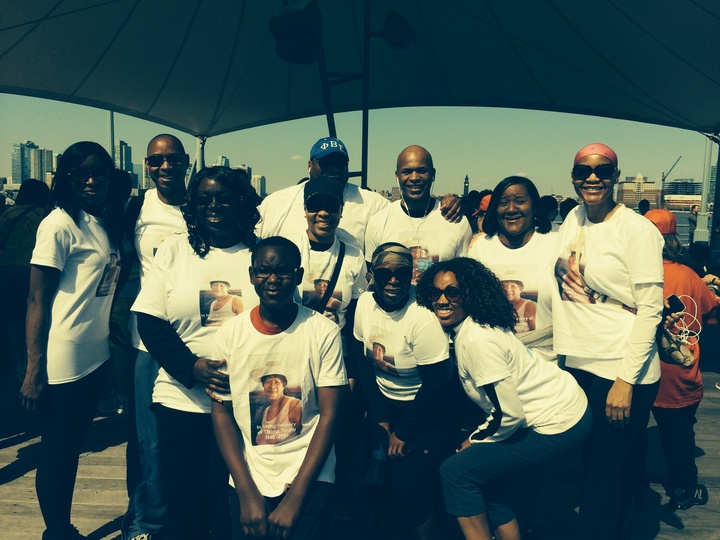 Thelma's Walkers Als Walk Nyc 2014 T-Shirt Photo