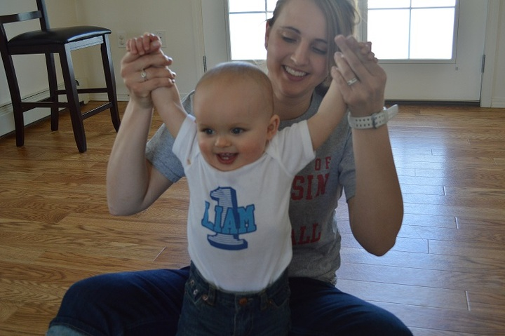 Liam's First Birthday T-Shirt Photo