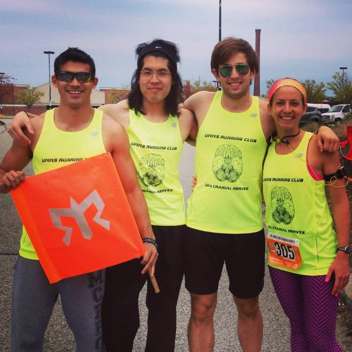 The Umms Cranial Nerves @ The Cape Cod Ragnar Relay! T-Shirt Photo