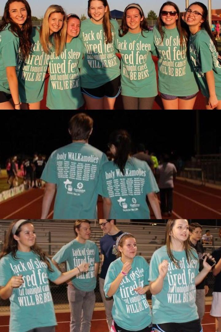 Holy Walkamolies At Relay For Life T-Shirt Photo