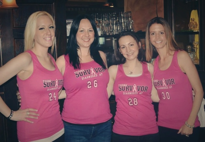 Guest Bartending Event Hosted By Young Survivors T-Shirt Photo