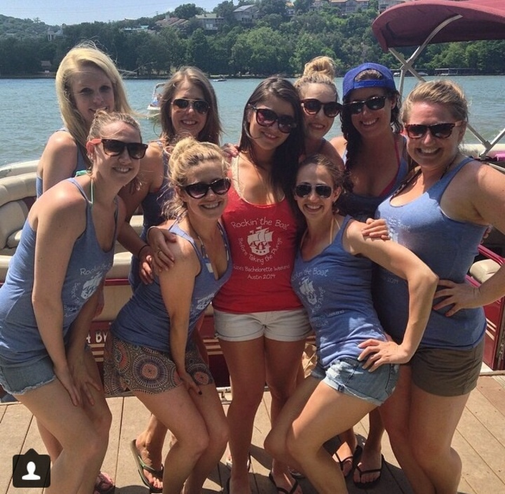 Bachelorette Boat Day T-Shirt Photo