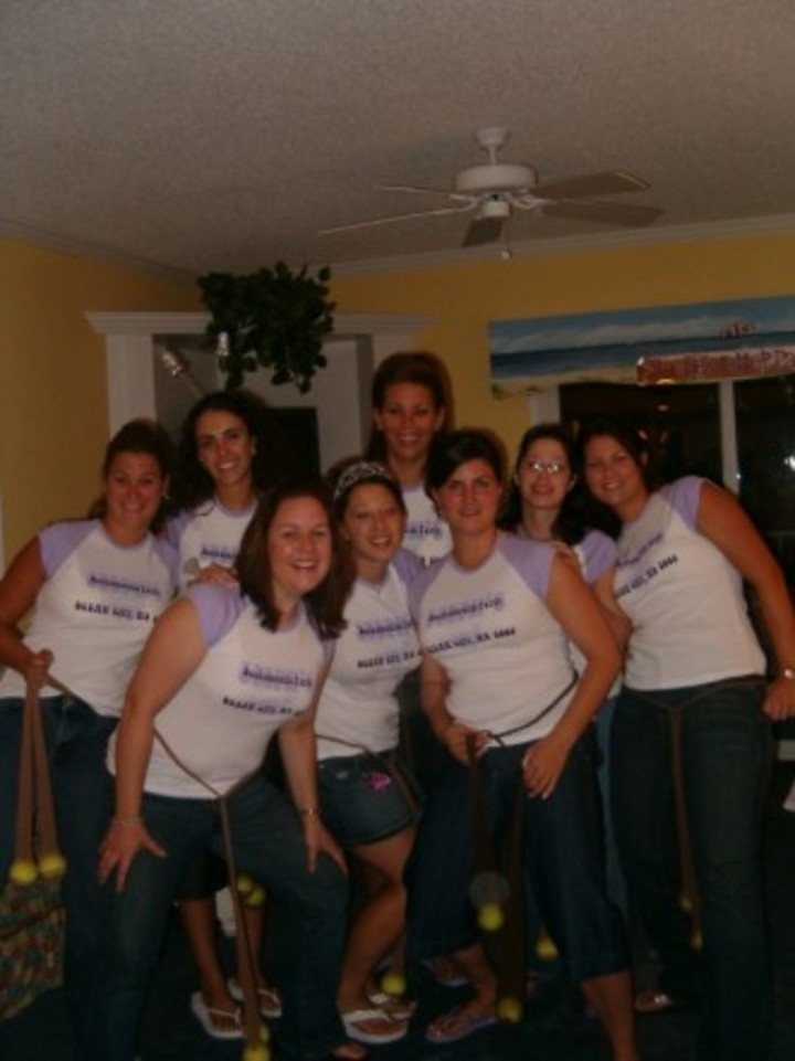 Steph's Bachelorette Weekend Ocean City Md 2006 T-Shirt Photo