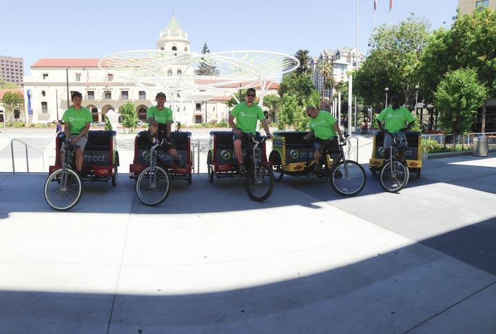 Pedicab Peddlers! T-Shirt Photo