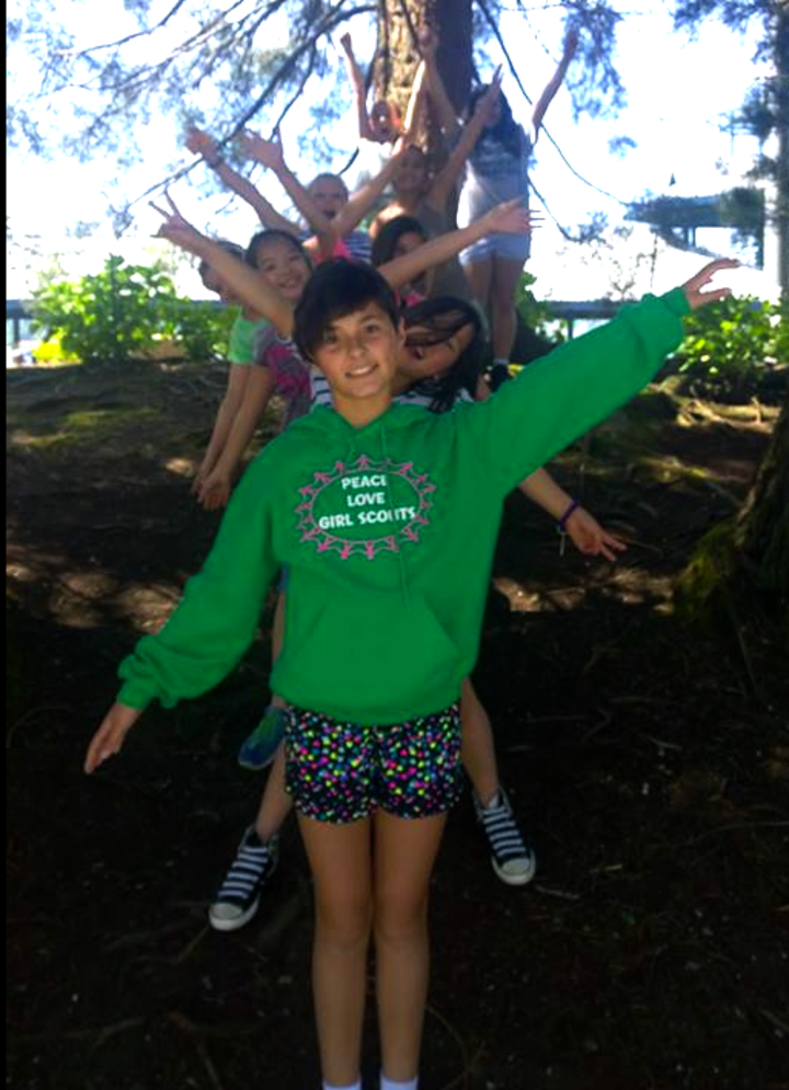 Girl Scout Troop #41083 T-Shirt Photo