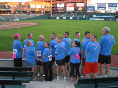 Team Grand Tetons (2007 Race For The Cure) T-Shirt Photo