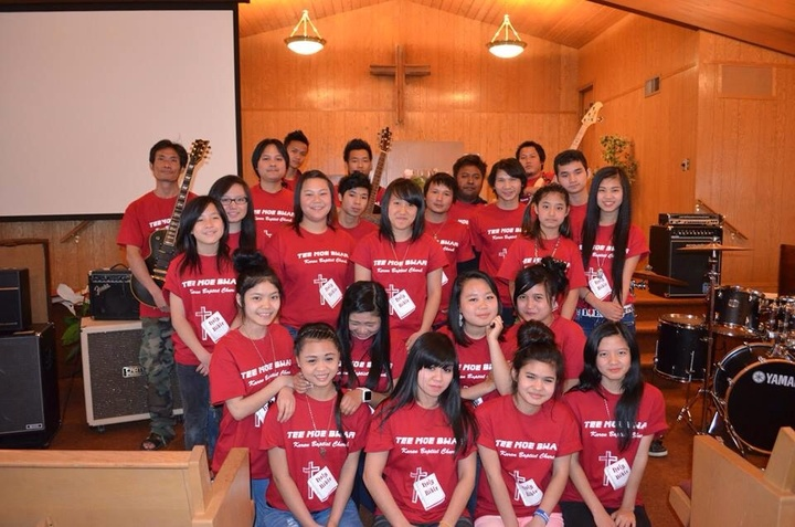Tee Moe Bwar Karen Baptist Church T-Shirt Photo