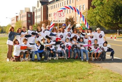 Russ' Rockers Conquer Juvenille Diabetes One Step At A Time T-Shirt Photo