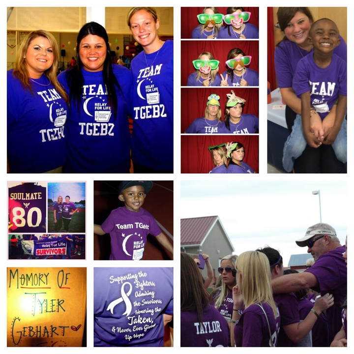 Team T Gebz   Relay For Life  T-Shirt Photo