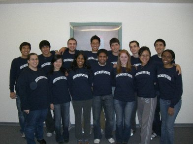 Northwestern Nrch Residence Hall Staff 2007 2008 T-Shirt Photo