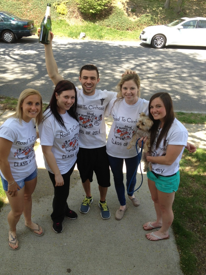 Road To Cirrhosis  T-Shirt Photo