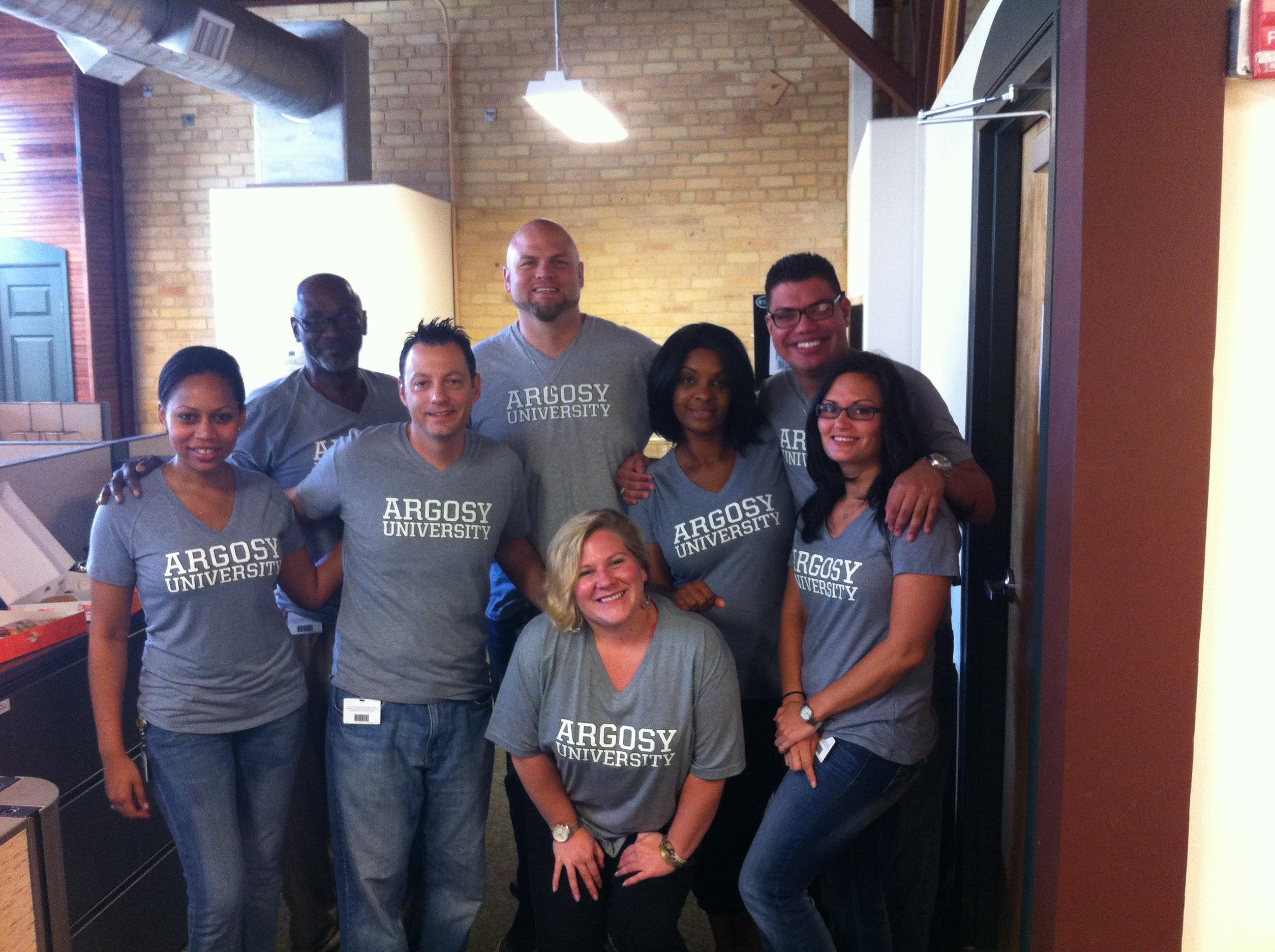 Shirt design tampa - Argosy University Tampa T Shirt Photo