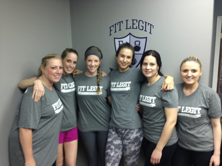 The Women Of Fit Legit T-Shirt Photo