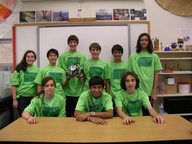 Green Tide Robotics Team T-Shirt Photo