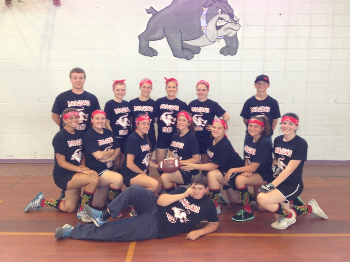 Freshman Powder Puff Football 2014 T-Shirt Photo