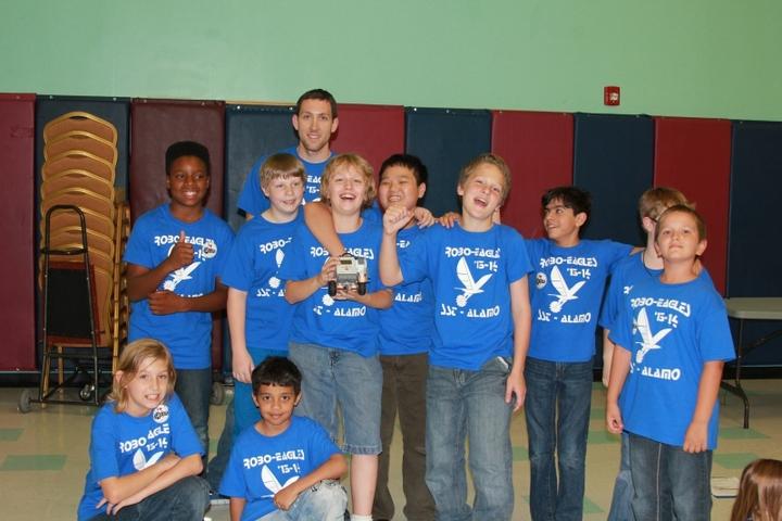 Robot Champions T-Shirt Photo