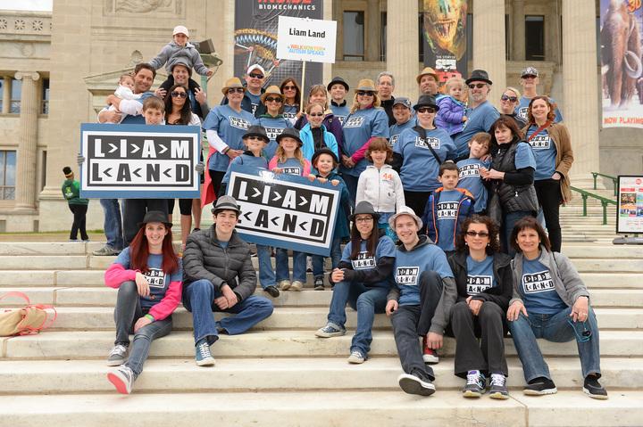 Autism Walk Chicago  Team Liam Land T-Shirt Photo