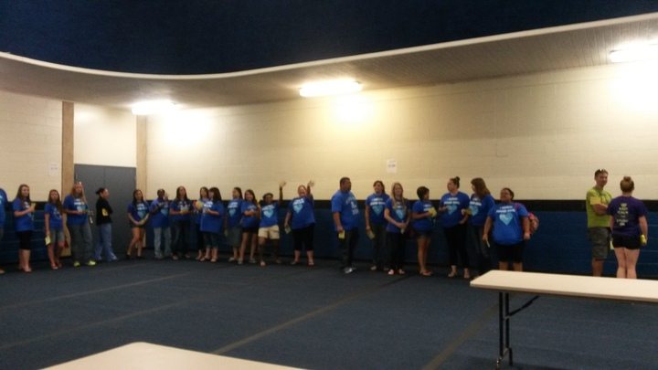 Rn Class Of 2014 @ Graduation Rehearsal T-Shirt Photo