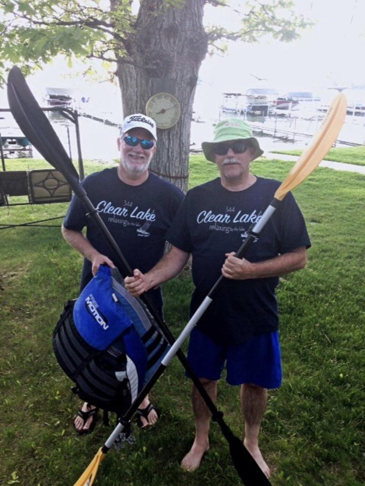 Kayaking Bros T-Shirt Photo