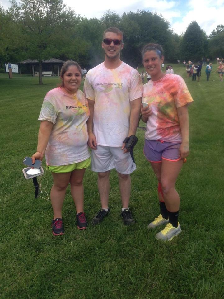 Color Run =Fun T-Shirt Photo