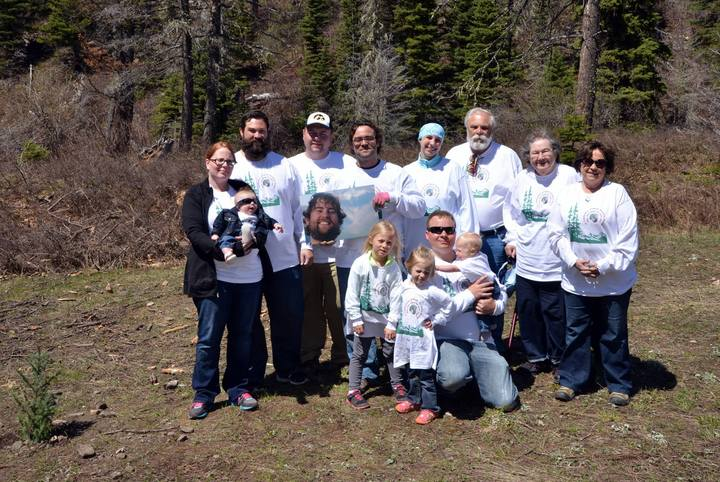 Planting A Grove Of Trees In Glacier In Memory Of Noah Baker! T-Shirt Photo