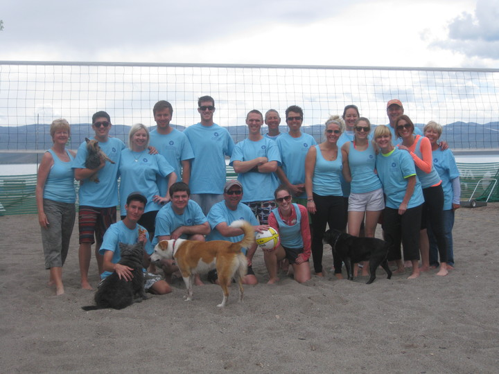 Mc Whitney Resort Bear Lake Volleyball T-Shirt Photo